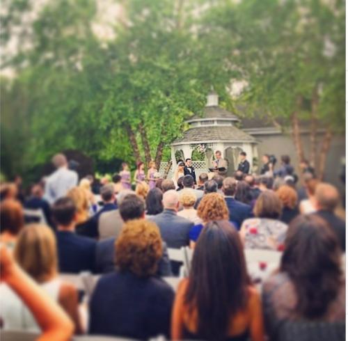Northampton Valley Country Club Wedding Ceremony June 2014'