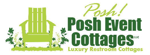 Posh Event Cottages Logo