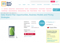 Data Shared Plan Opportunities, Business Models and Pricing