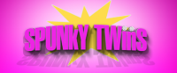 Spunky Twins Book Series Logo
