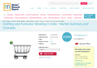 Clothing and Footwear Retailing in India