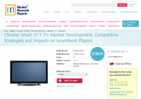Chinese Smart OTT TV - Market Development