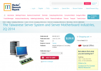 Taiwanese Server System and Server Motherboard Industries