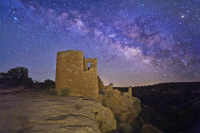 Hovenweep Castle at the Square Tower unit by Wally Pacholka