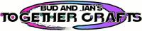 Bud & Jan's Together Crafts Logo