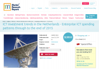 ICT investment trends in the Netherlands 2015