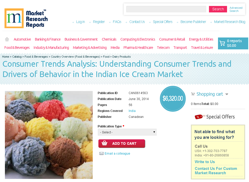 indian dairy food market consumer trends analysis
