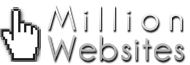 Logo for MillionWebsites.com'