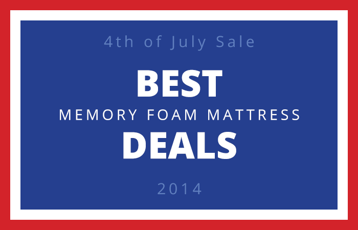 4th of July Sales Compared by Memory Foam Mattress Guide