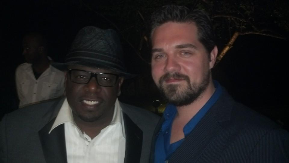 Justin Goldsmith and Cedric the Entertainer