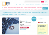 Co-promotion and Co-marketing Partnering Terms and Agreement