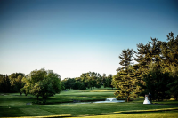 Northampton Valley Country Club Golf Course Wedding Photo
