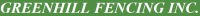 Greenhill Fencing Inc. Logo