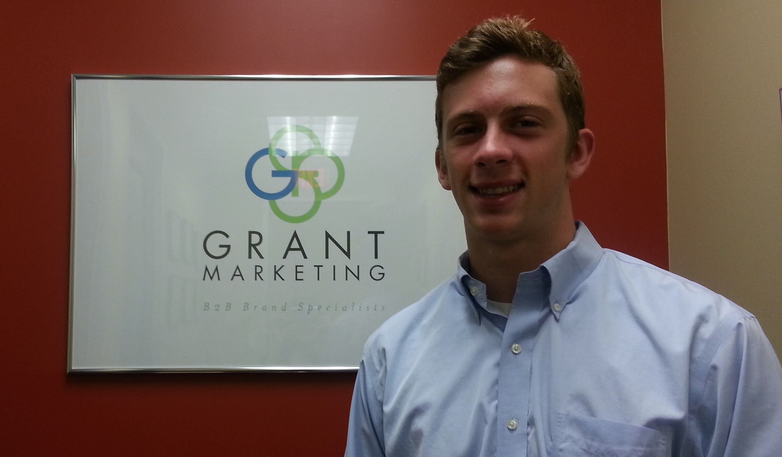 James Carver, Summer Intern at Grant Marketing.