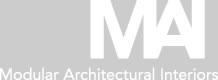 MAI: Modular Architectural Interiors'