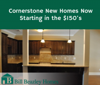 Cornerstone New Homes Now Starting in the $150′s