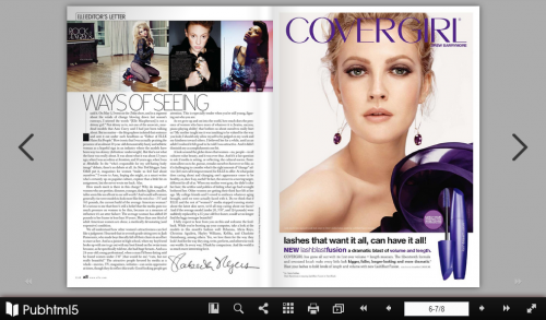 HTML5 Page Flip Magazine'