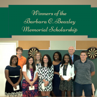 Winners of the Barbara C. Beazley Memorial Scholarship