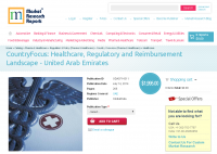 UAE Healthcare, Regulatory and Reimbursement Landscape