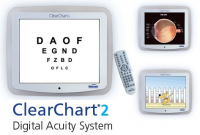 First Digital Eye Chart: Clear Chart