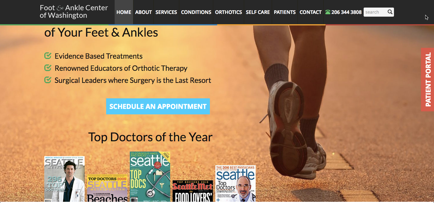 Foot and Ankle Center Announces New Mobile-Friendly Website