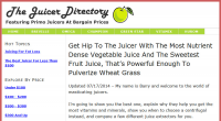 The Juicer Directory