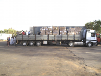 Shipment of Hope Kirker African Medical Relief Association
