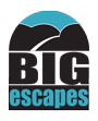 Logo for Big Escapes'