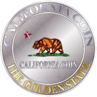 California Coin Logo