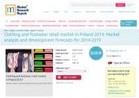 Clothing and footwear retail market in Poland 2014