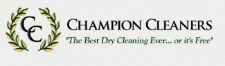 Company Logo For Champion Cleaners'