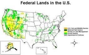 federal lands'