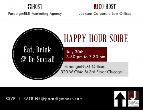 ParadigmNext After Work Event July 30'