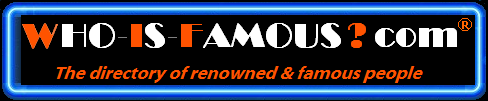 Company Logo For WHO-IS-FAMOUS.com'