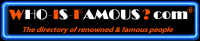 WHO-IS-FAMOUS.com Logo