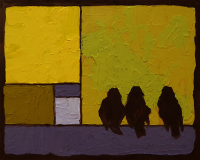 Urban & Feather Oil Painter Dave Rasel