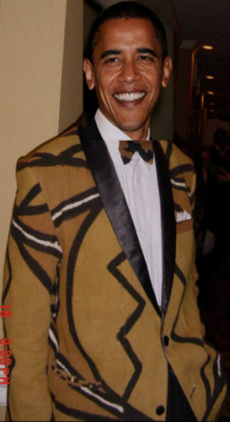 African Tux for President Obama Elmore African Imports'