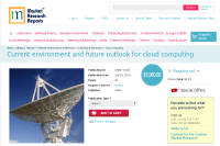 Current environment and future outlook for cloud computing