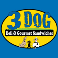 3 Dog Deli Logo