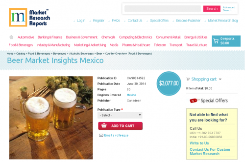 Beer Market Insights Mexico'