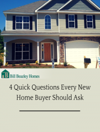 4 New Home Buyer Questions You Should Ask