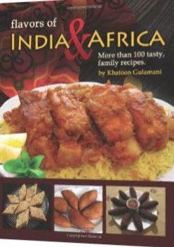"""Flavors of India & Africa"" Cook"