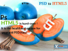 PSD to HTML Conversion Services'