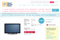 LCD TV Panel Development Trends and Issues, 2014 and Beyond