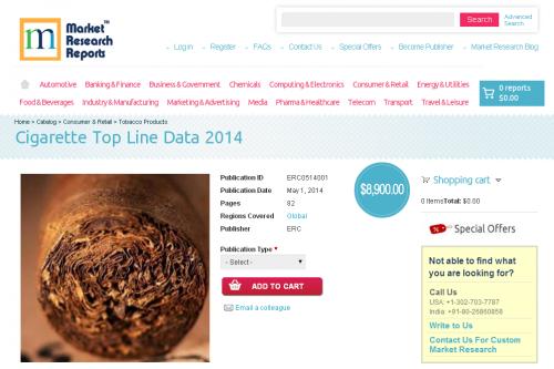 Cigarette Top Line Data 2014'