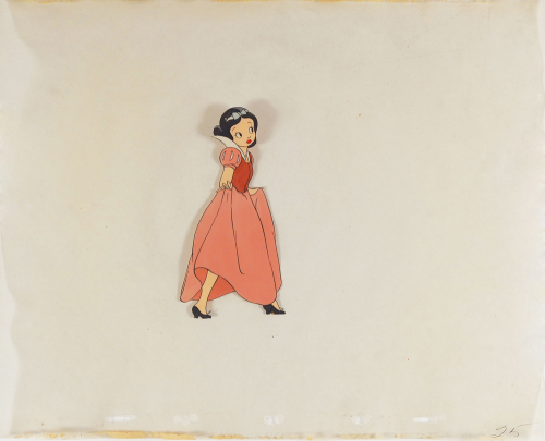 Early Snow White production cel'