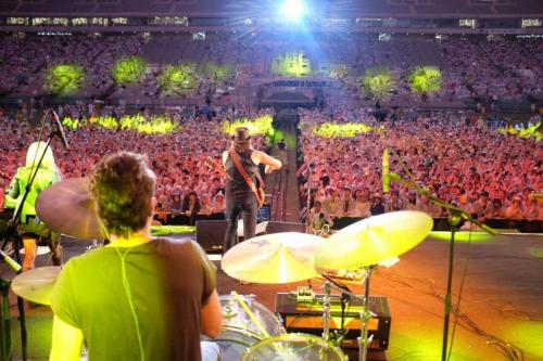 Richie Sambora and Orianthi Seuol Korea'