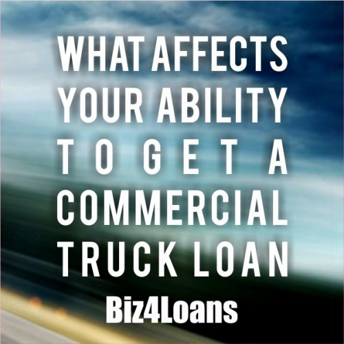 Commercial Truck Loans'