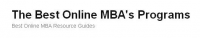 Best Online MBA Programs