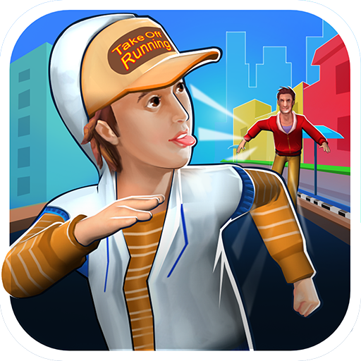 TakeOff Running App Icon